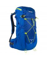 Blackfell II 35 Litre Backpack Pocket Oxford Blue Lime Zest
