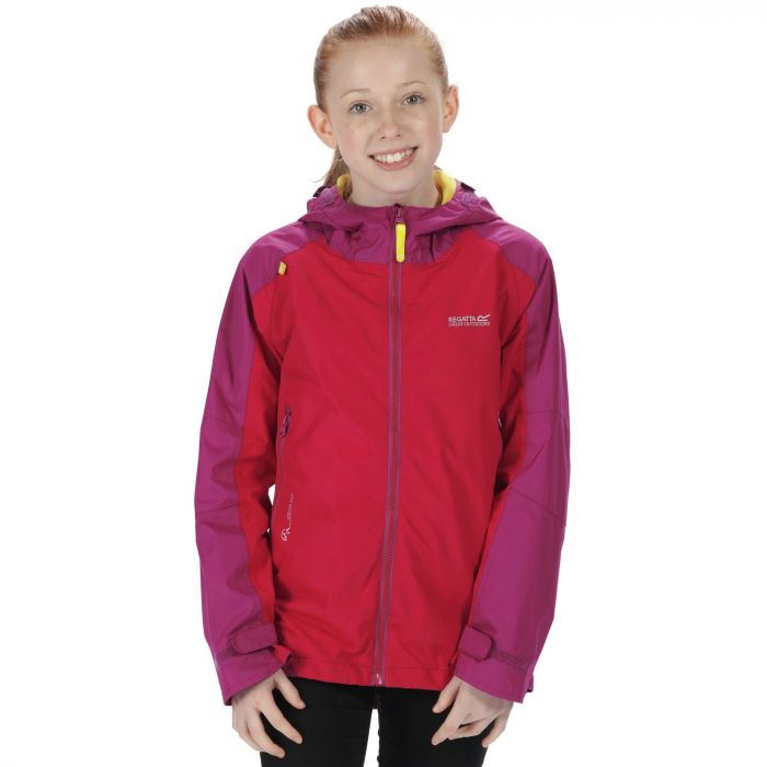 Kids Allcrest II Waterproof Hooded Jacket Duchess Vivid Viola