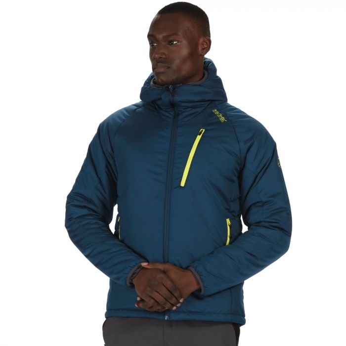 Capen Outlast Insulated Hooded Jacket Majolica Blue