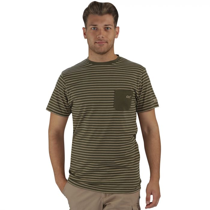 Twain T-Shirt Olive Night