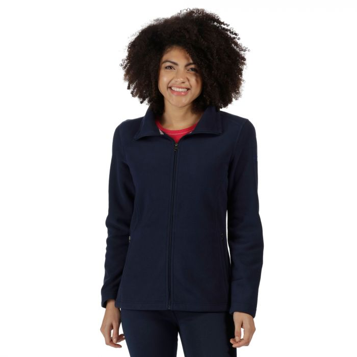 Cathie III Full Zip Anti-Pill Fleece Navy