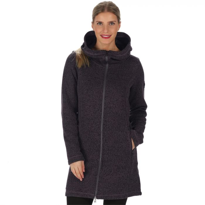 Radella II Long Length Knit Effect Bonded Fleece Dust