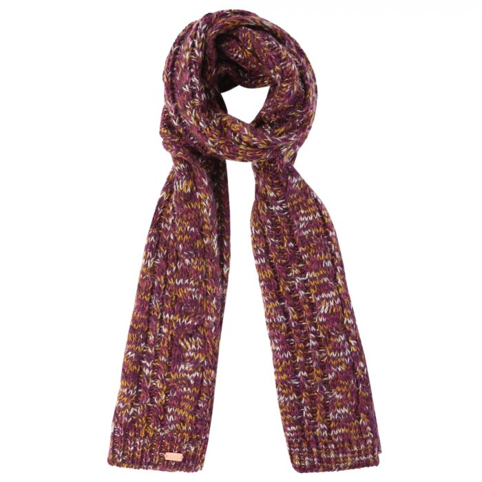 Women's Frosty Knitted Scarf Fig