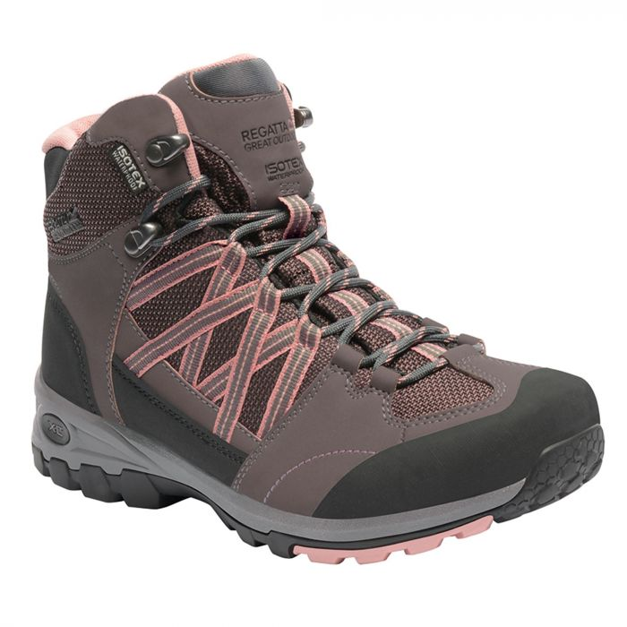 Women's Samaris Mid Hiking Boots Walnut Rose Tan