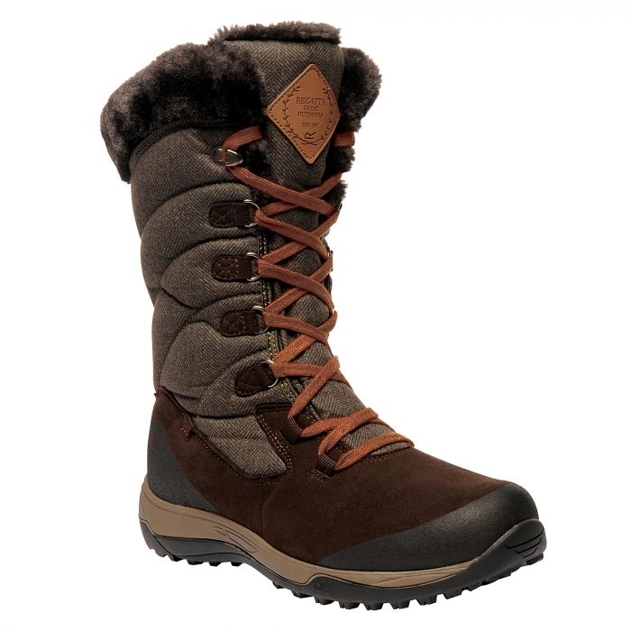 Women's Newley Casual Snow Boots Peat Treetop
