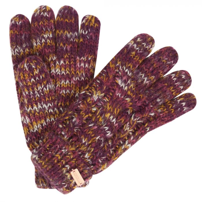Women's Frosty Knit Gloves Fig