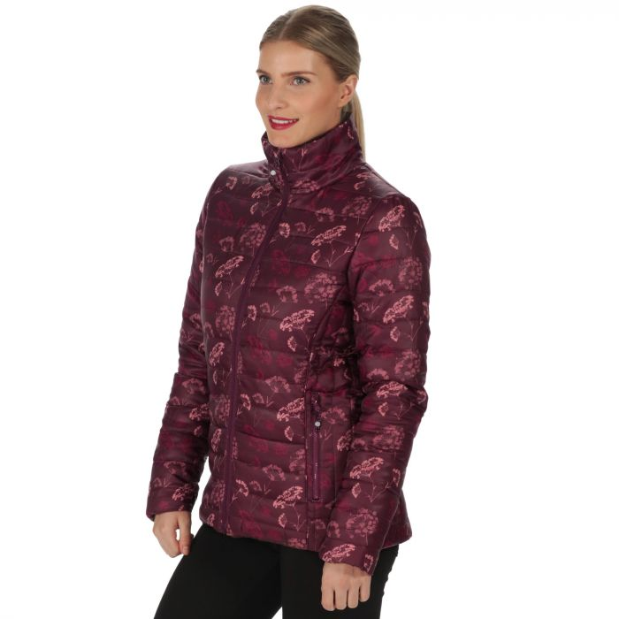Women's Icebound II Mid Weight Insulated Jacket Printed Fig