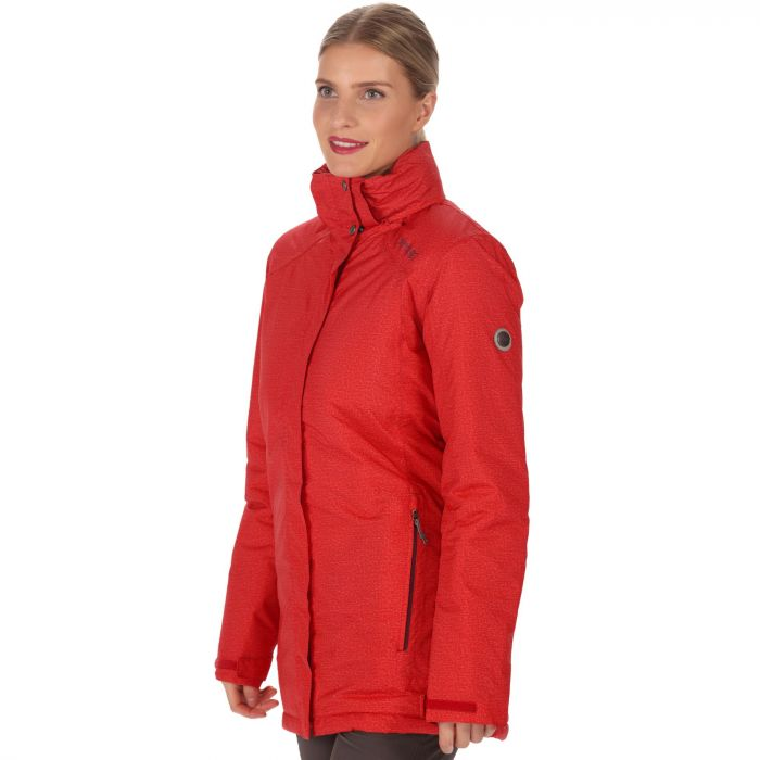 Seyma II Waterproof Insulated Jacket Scarlet