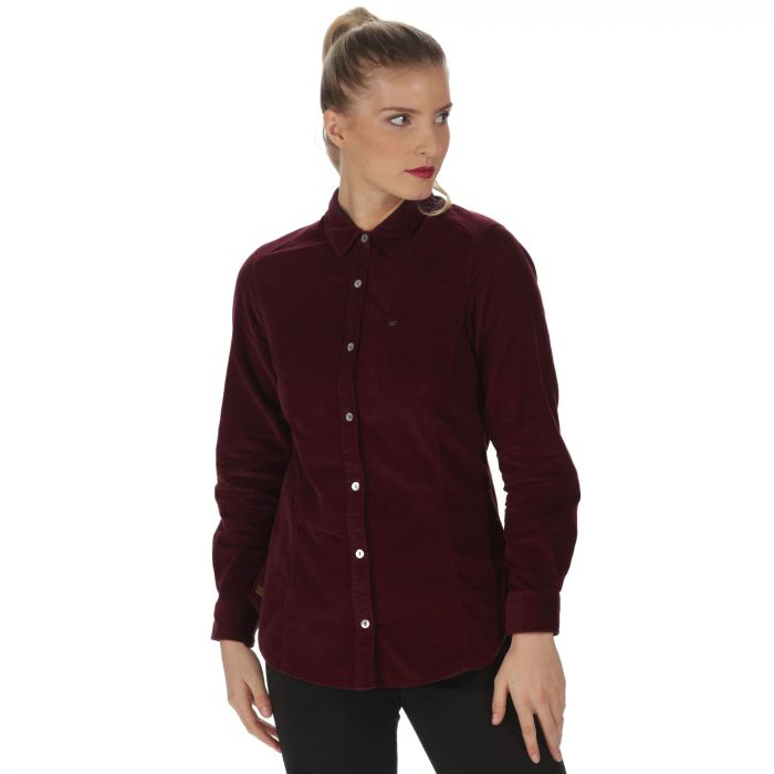 Maliyah Coolweave Cotton Corduroy Shirt Fig
