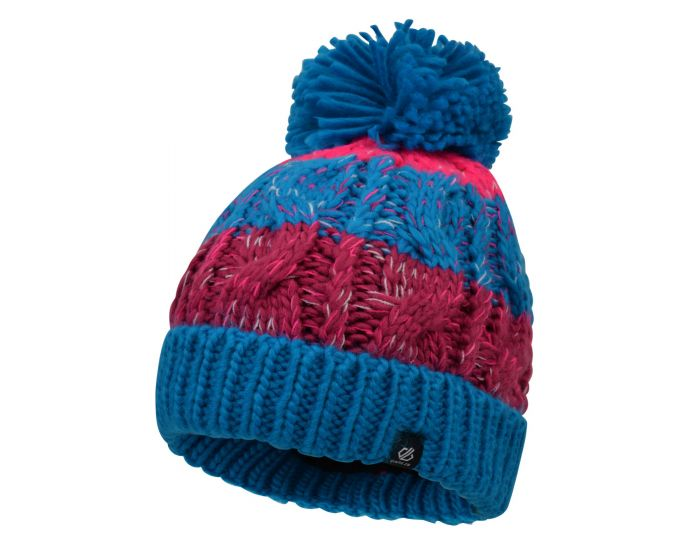 Dare 2b - Girls Lively Bobble Hat Atlantic Blue