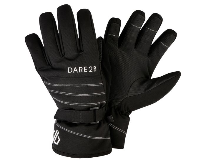 Dare 2b - Girls Abundant Stretch Ski Gloves Black