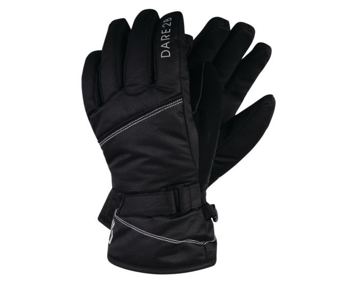 Dare 2b - Girls Impish Waterproof Insulated Ski Gloves Black