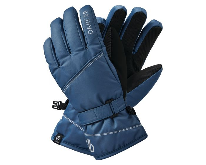 Dare 2b - Girls Impish Waterproof Insulated Ski Gloves Dark Denim