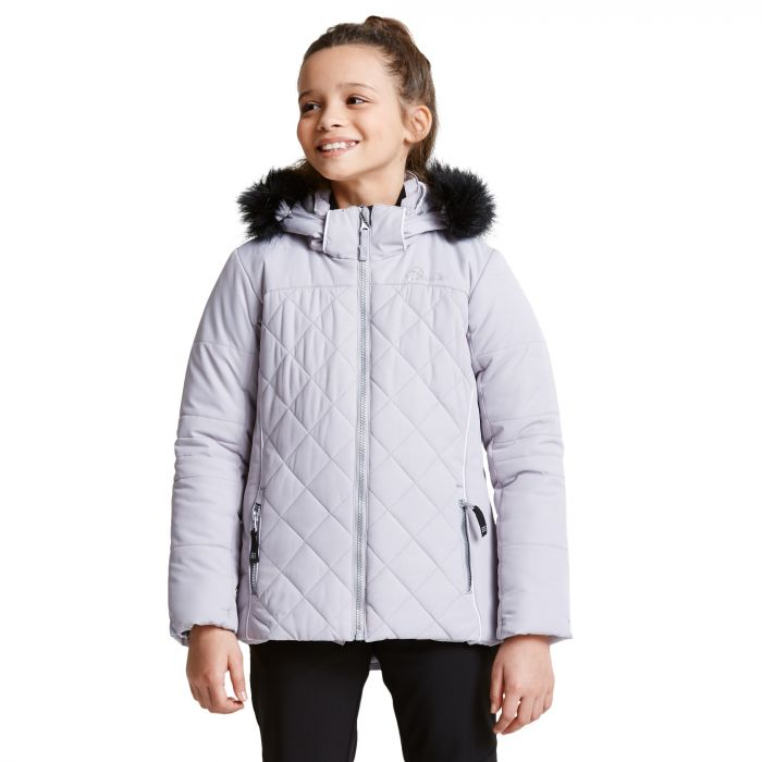 Dare 2B Kids Relucent Ski Jacket Silver Flash