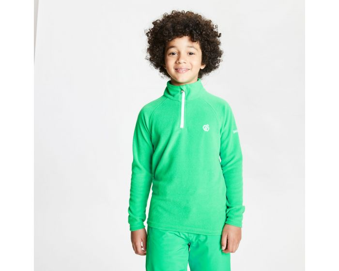 Dare 2b - Kids Freehand Half Zip Lightweight Fleece Vivid Green