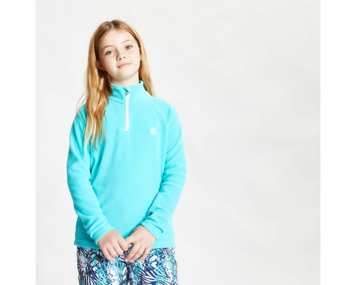 Dare 2b - Kids Freehand Half Zip Lightweight Fleece Ceramic Blue