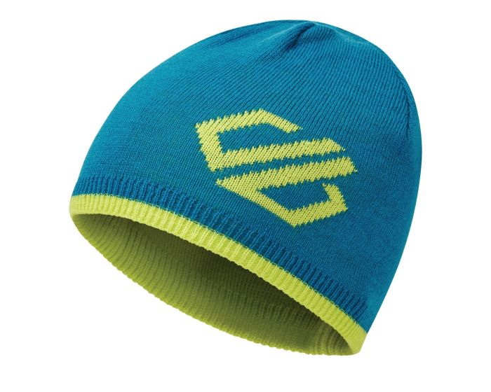 Dare 2b - Kids Frequent Beanie Hat Petrol Blue Lime Punch