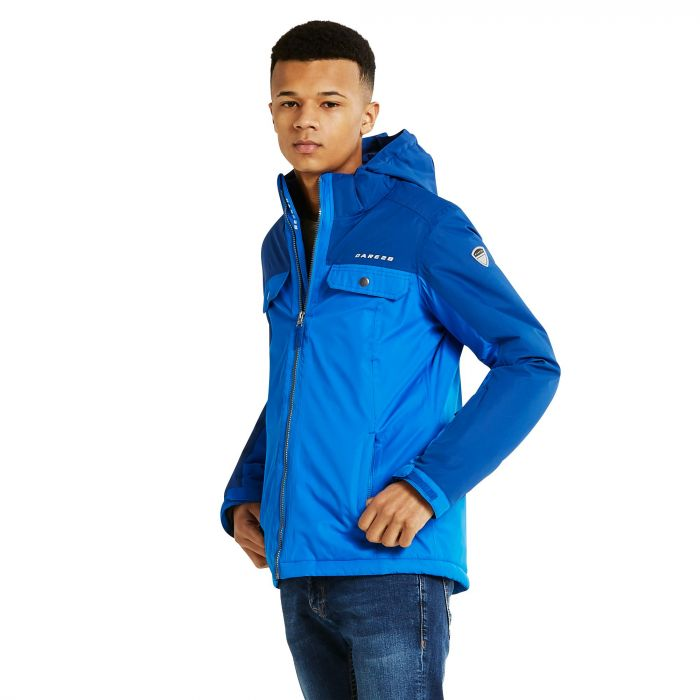 Dare 2B Kids Fledged Ski Jacket LaserBl/OxfB