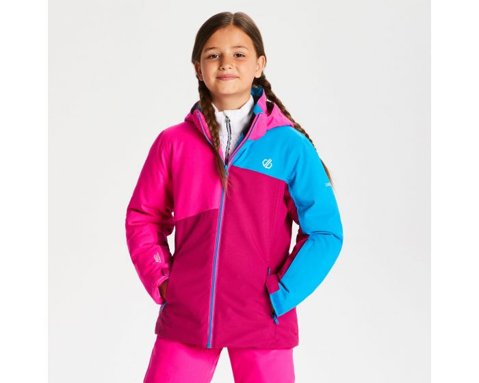 Dare 2b - Kids Chancer Ski Jacket Fuchsia Cyber Pink