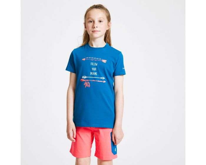 Dare 2b - Kids Go Beyond Graphic T-shirt Petrol Blue