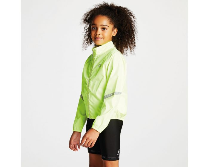 Dare 2b - Kids Cordial Waterproof Shell Jacket Fluro Yellow