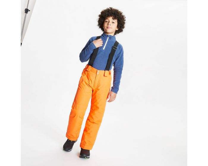 Dare 2b - Kids Motive Waterproof Insulated Ski Pants Blaze Orange