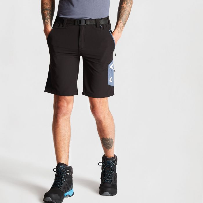 cd9ef4e0c8 Men's Disport Lightweight Multi Pocket Shorts Black | Dare 2b ...
