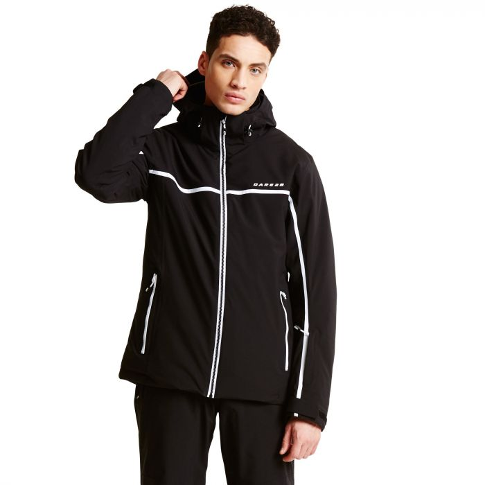 Men s Obtain Ski Jacket Black  46aac25b0