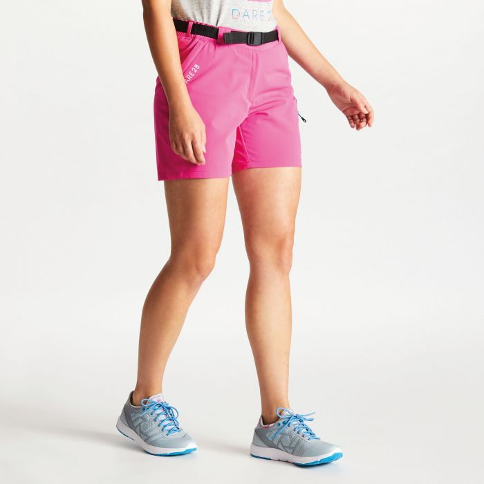 6770717fe5 Dare 2B Women's Revify Lightweight Multi Pocket Walking Shorts Cyber Pink