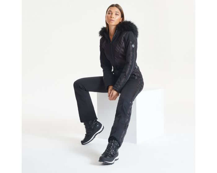 Dare 2b - Julien Macdonald - Womens Grandious Waterproof Ski Suit Black