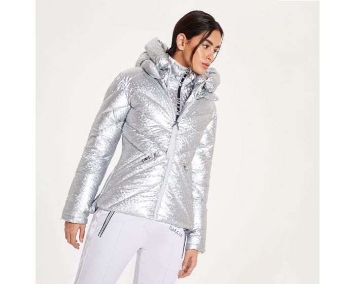 Dare 2b X Julien Macdonald - Womens Magisterial Insulated Ski Jacket Platinum