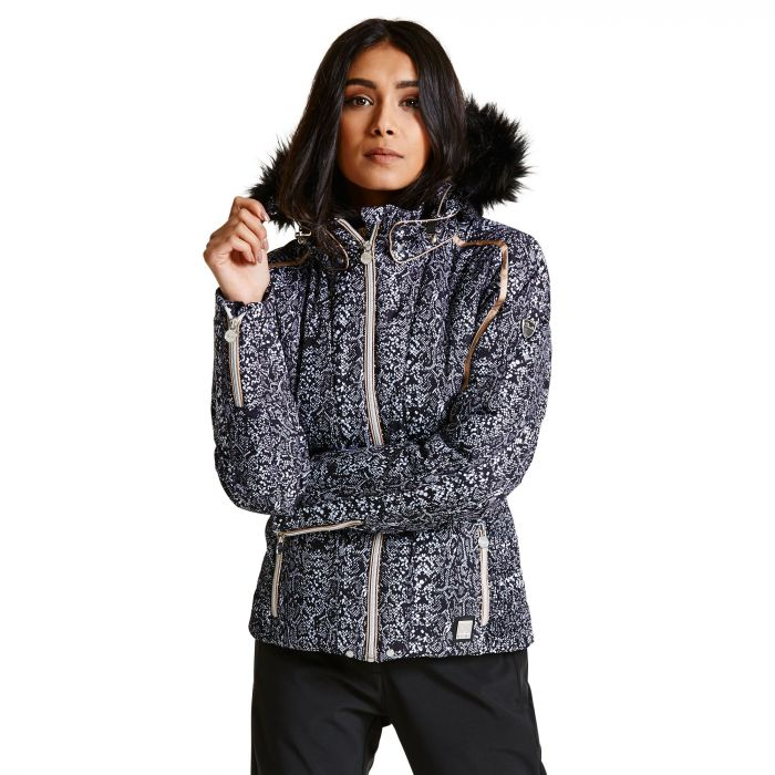 00024cd9046e Dare 2B Women s Convolute Luxe Ski Jacket Black