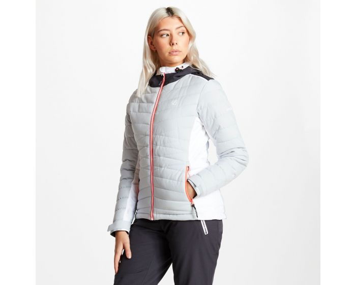 Dare 2b - Womens Simpatico Quilted Ski Jacket Argent Grey
