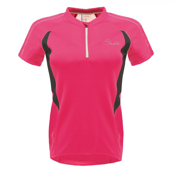 Dare 2B Configure Cycle Jersey Neon Pink