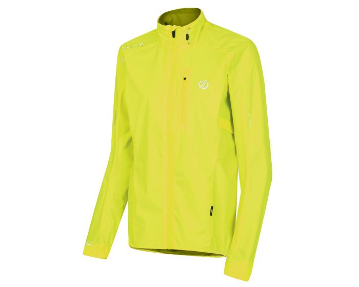 Dare 2b - Womens Mediant Lightweight Reflective Waterproof Shell Jacket Fluro Yellow
