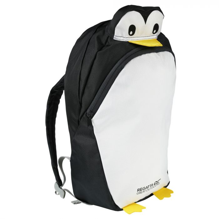 Kids Zepher Animal Daypack Rucksack Penguin Ash