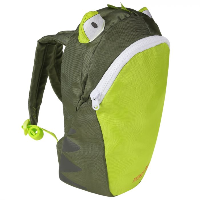Kids Zepher Animal Daypack Rucksack Racing Green