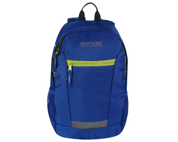 Kids' Jaxon Ill 10L Rucksack Nautical Blue Electric Lime