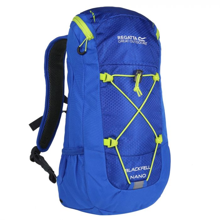 Kids Blackfell Nano Junior Rucksack Oxford Blue Lime Zest