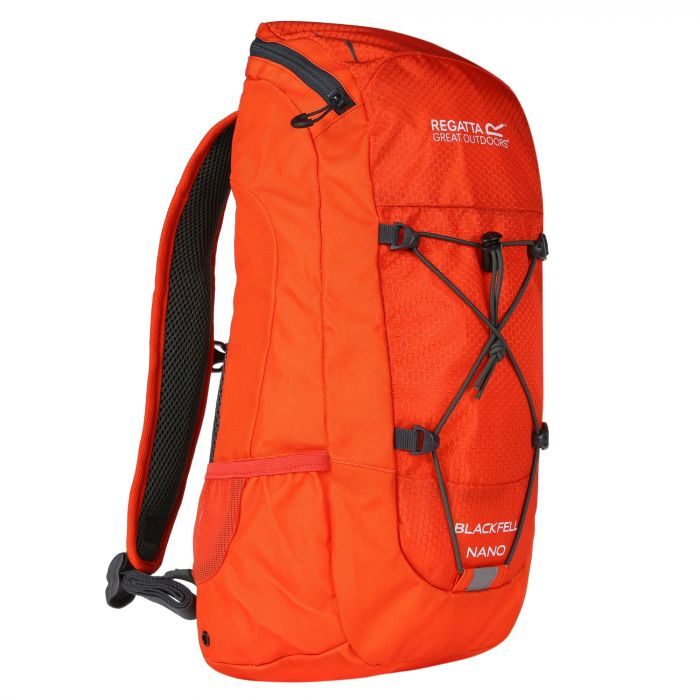 Kids Blackfell Nano Junior Rucksack Amber Glow Ebony