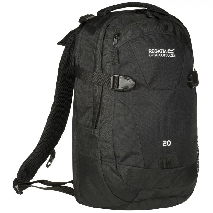 Paladen 20 Litre Laptop Backpack Rucksack Black