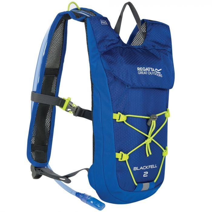 Blackfell II 2 Litre Hydration Backpack Oxford Blue Lime Zest