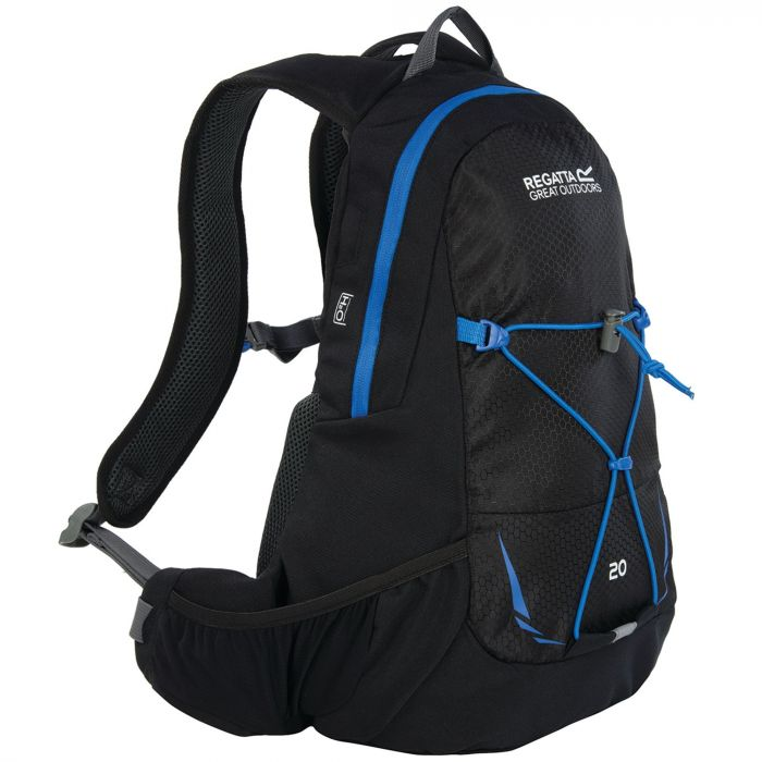 Blackfell II 20 Litre Hydration Backpack Rucksack Black French Blue