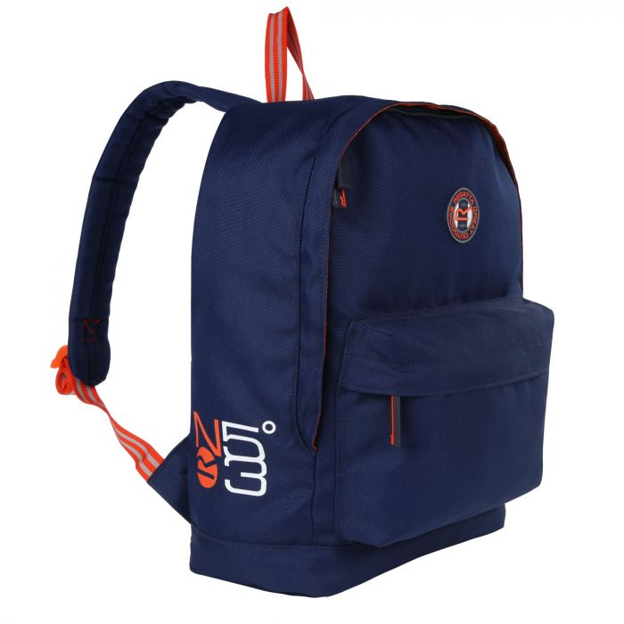 Print 20 Litre Easy Grab Zip Puller Daypack Nautical Navy