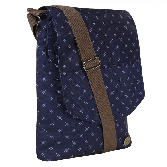 Elsie Cross Body Bag Navy Fleck