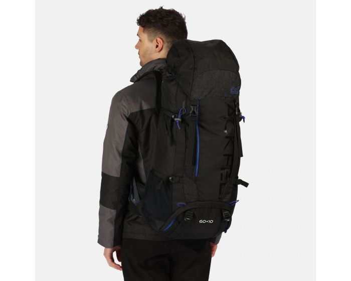 Blackfell Iii 60+10l Expandable Rucksack Black Surfspray
