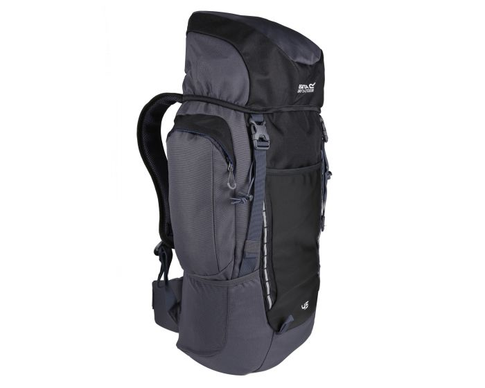 Highton 45L Rucksack Black Ebony