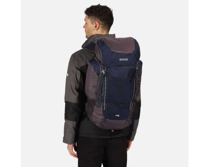 Highton 45l Rucksack Navy Ebony