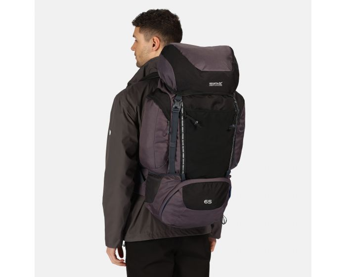 Highton 65l Rucksack Black Ebony