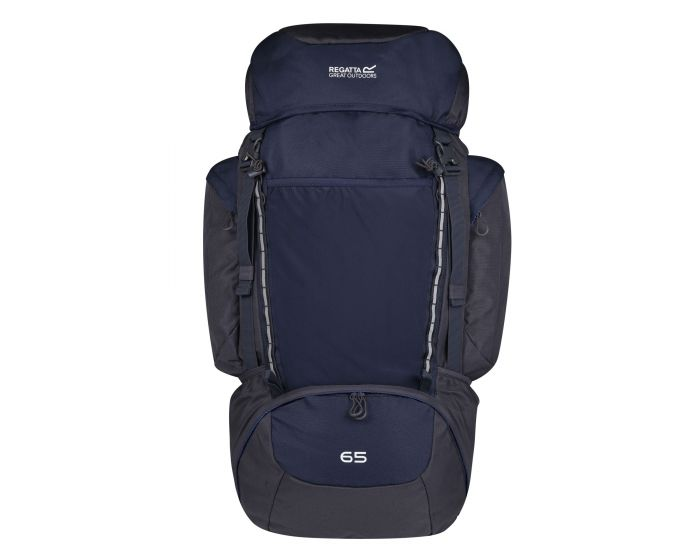 Highton 65l Rucksack Navy Ebony